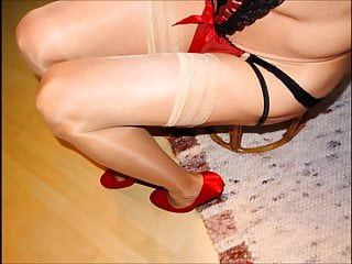 Xxx stockings pics - Pantyhose, nylons, high heels pics mix