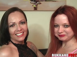 Samantha and black cock - Busty cum sluts samantha and summer angel fucked in an orgy