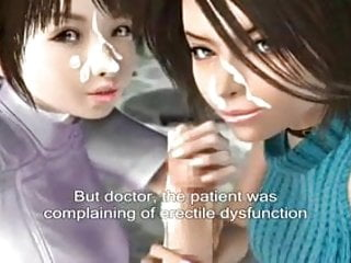Anime lesbians cartoon Animated japanese doctor and nurse with subtitles