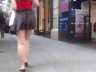 Porn videos short skirt sex Short skirt on a windy day - spectacular