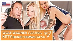 Hot Casting: Kitty Blair loves hard dick! wolfwagner.casting