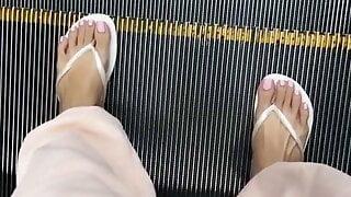 Asian Filipina Feet Spa Day