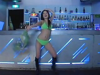 Asian gogo club Sexy japan gogo girl striptease disco dance