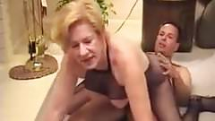 Granny Diane Richards 74 yo fucked in bodystocking
