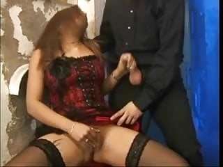 Hot asian sex Hot asian tattoo slut takes on two cocks and big toys for her asshole