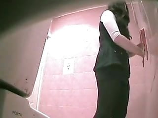 Russian voyeurism Hidden cam in toilet - 4