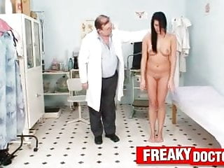 Awesome breast video forum Awesome brunette melissa ria breast exam at gyno