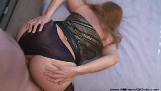 Bubble Butt Mexican Granny Gets Butt Fucked