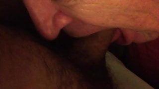 Silver Daddy Sucking me Pt2