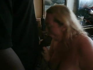 Slut gets fucked by two black - Me getting fucked by two black cocks