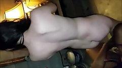 White brunette babe cuckolding her fiance