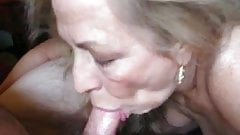 Mature Wife With Nice Set of Tits Sucks My Cock