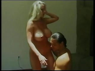 Natural 34 d cup tits porn Ponytailed dude eats and fingers pretty d-cup blondes shaved cunt