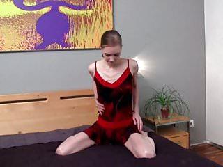 Nova nude yulia Yulia - bed fingers