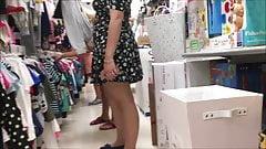 23yr old booty wife upskirt no panties
