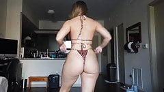 Phat Ass YouTuber Thong Bikini Try On Haul (PAWG)
