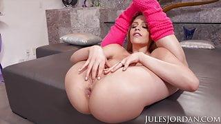 Jules Jordan - Mia Malkova Receives An Anal Creampie