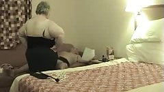 Granny Domme in Action