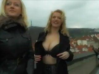 Gay bars prague - Big boobs anal threesome in prague