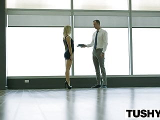 Medea escort - Tushy blonde escort ash hollywood gives up her ass for the f