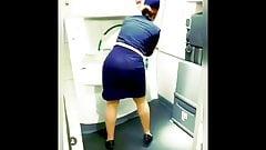 stewardess sexy ass