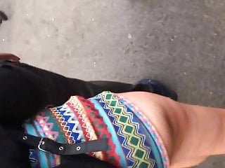 Young teen tiny ass Candid bubble butt teen tiny cheeky shorts