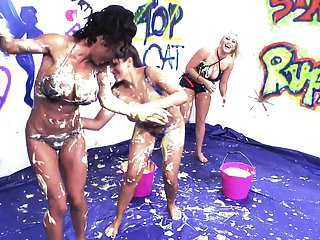 How to have a big cumshot These chicks sure knows how to have lots of fun naked