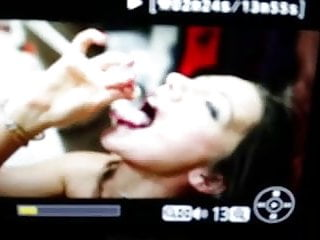 Anal cum drinking whore - A good whore always drinks cum from condom gangbangstar