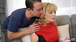 AgedLovE Grandma Seduced and Fucked Hardcore