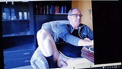 GERMAN DADDY ON CAM