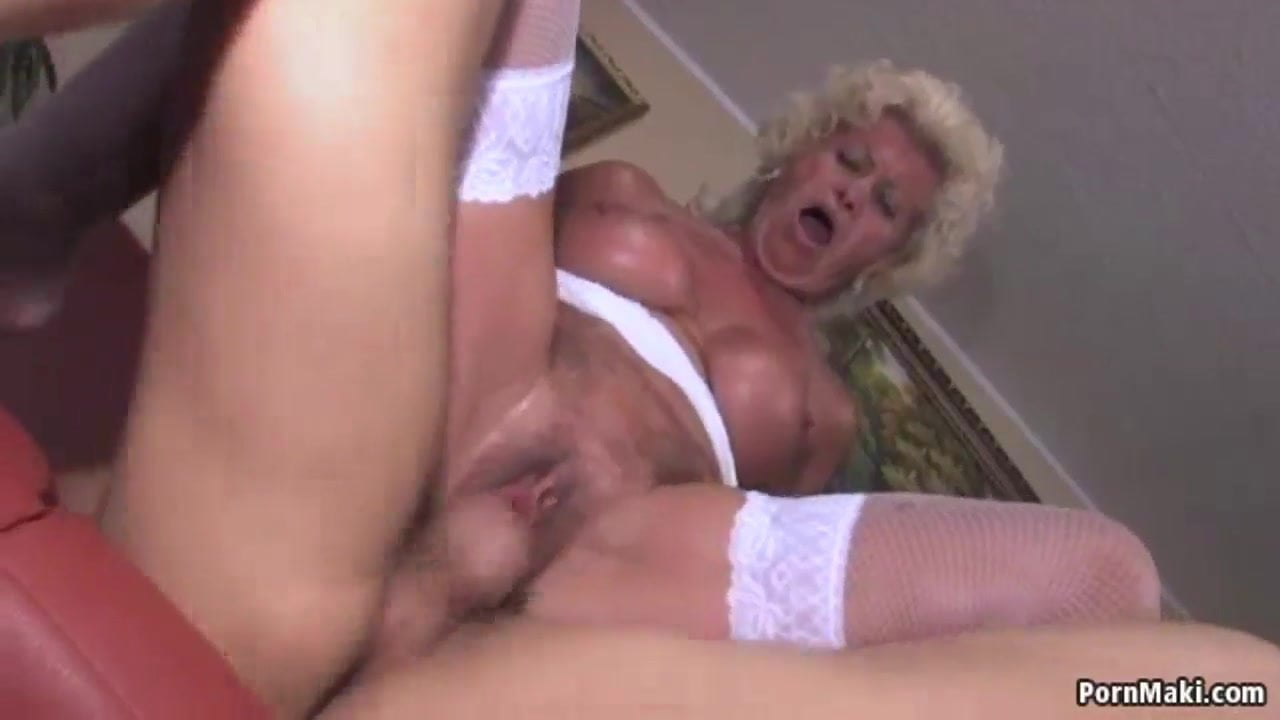 Mature Blond Fucked Hard