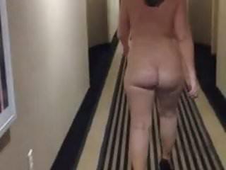 Fear factor walk naked - Just walking naked