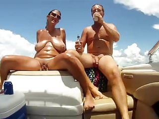 Personal glass bottom boat - Amateur boat fun.mp4
