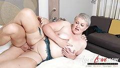 AgedLovE, Hot Mature Lady Sucking Big Hard Dick