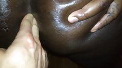 Ass fingerd Fuck