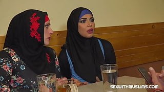 Muslim woman spread her legs for ID's