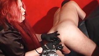 Mistress Fisting A Slave