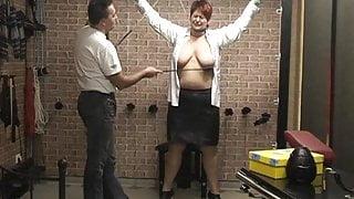 Annadevot - Anna spanked by her master!