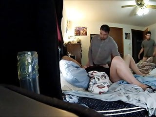 Screamig porn Bbw blonde slut birthday gangbang, all cum in her pussy