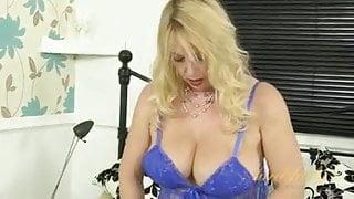 Lucy Gresty in Blue