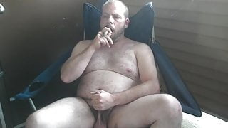 Jerking with Cigar