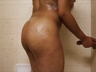 Cheap suction dildos Girlfriend fucked hard by her suction dildo in the shower