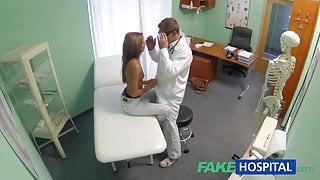 FakeHospital Spying on hot young babe having special time