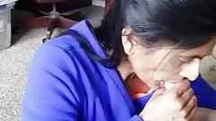 Paki Milf Sucking BF Cock When Husband Not Home 2