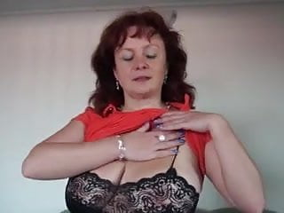 Sexy woman necked - Sexy woman mature