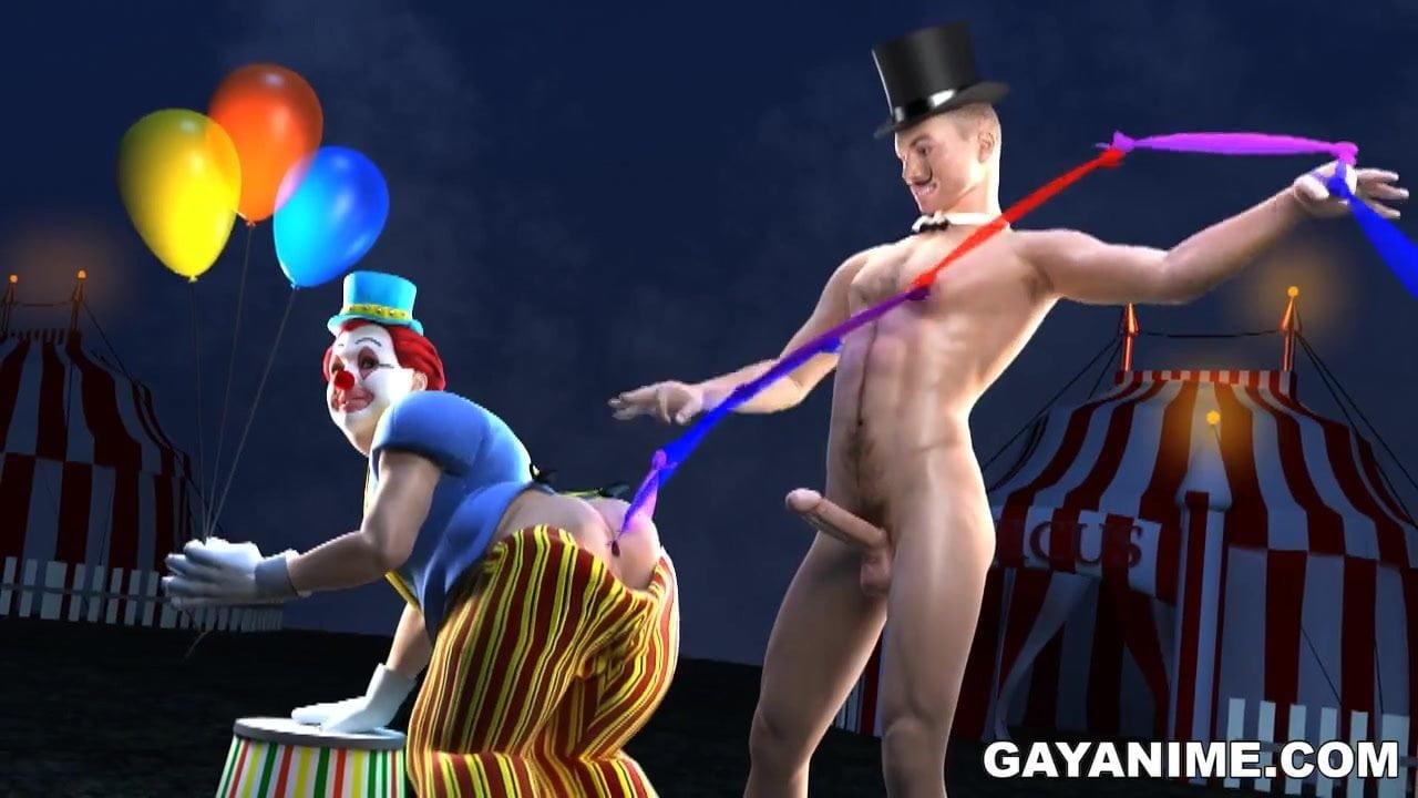 Sexy clown porn