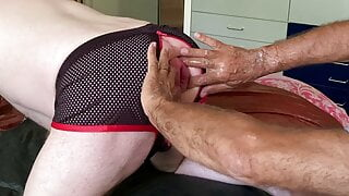 Crowne's fist & Beastli XL dildo in my cunt, 06-06-21