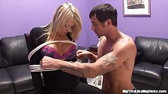 Busty Blonde Shawna Lenee Gets Pounded By Cock!