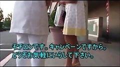 Японский массаж перед скрытой камерой