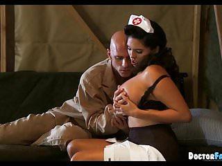 Nurses huge tits - Military nurse with huge rack